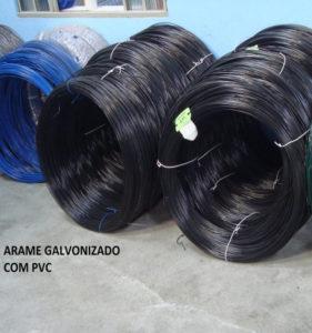 ARAME GALVANIZADO C/ PVC